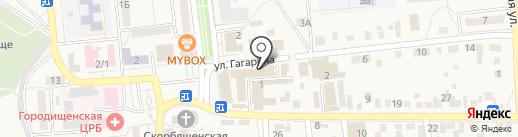 Агентство недвижимости на карте Городища