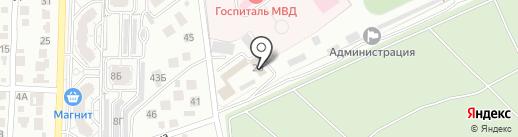 Управление Росгвардии по Волгоградской области на карте Волгограда
