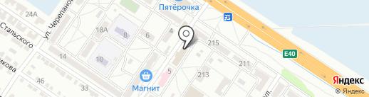 Магазин домашней мясной продукции на карте Волгограда