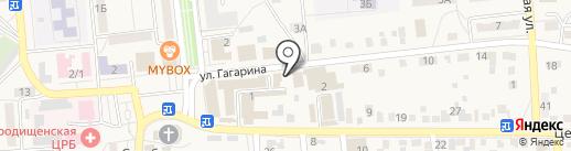Магазин смешанных товаров на карте Городища