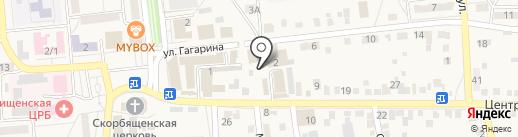 Ремонтная мастерская на карте Городища