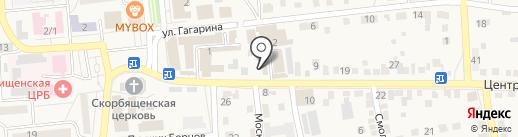 Свежая выпечка на карте Городища