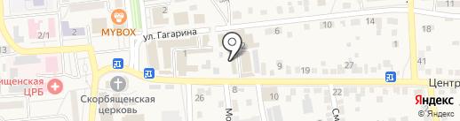 Грация на карте Городища