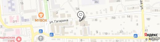 Волгоградский Мясокомбинат на карте Городища