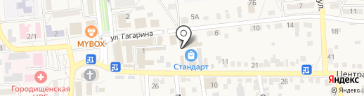 Татьяна на карте Городища