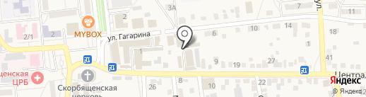 Мастерская по ремонту обуви на карте Городища