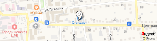 Мир рукоделия на карте Городища