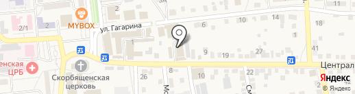 АктивДеньги на карте Городища