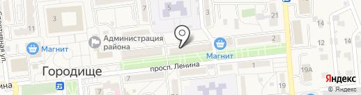 Золотые ручки на карте Городища
