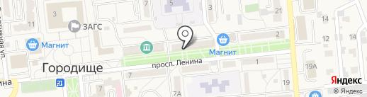 РУССКИЕ ТРАДИЦИИ на карте Городища