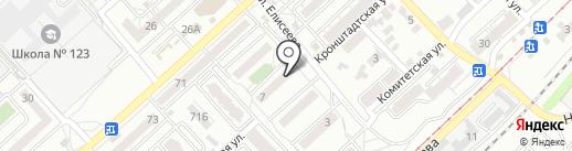 Звуковое агентство на карте Волгограда