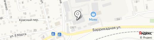 ДорХан 21 век-Волгоград на карте Городища