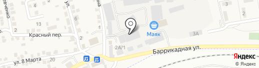 Ролопт на карте Городища