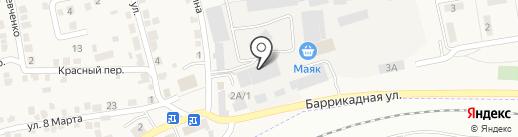 RODOS на карте Городища