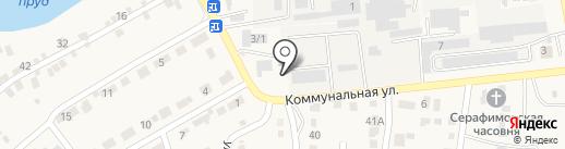 ВВК на карте Городища