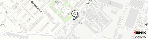 Роском на карте Волгограда