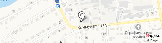 Сорокин-экспорт на карте Городища