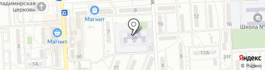 Центр социальной защиты населения по Дзержинскому району на карте Волгограда