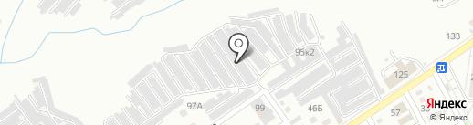 Гараж-строй, ГК на карте Волгограда