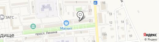 Управление Федеральной службы государственной регистрации на карте Городища