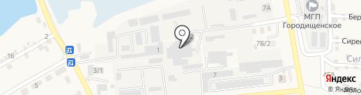 Альянс на карте Городища