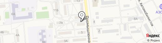 Киоск по продаже хлебобулочных изделий на карте Городища