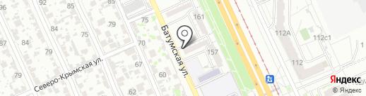 Открытие на карте Волгограда