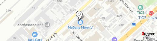 Фортуна Арки на карте Волгограда