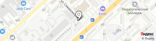 Пять колес на карте Волгограда