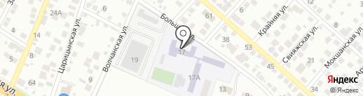 Котельная Дзержинского района на карте Волгограда