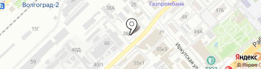 НОРД ВИЛ на карте Волгограда