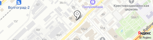 И Д ЭНД Ф МЭН на карте Волгограда