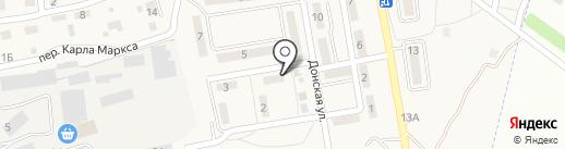 Овен на карте Городища