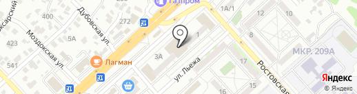 Империя керамики на карте Волгограда
