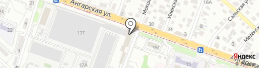 Отдел организации обеспечения установленного порядка деятельности судов на карте Волгограда