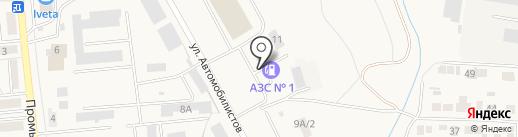 АЗС на карте Городища