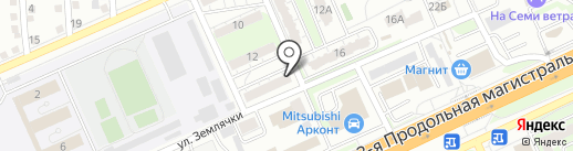Швейка на карте Волгограда