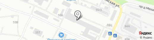 Лестницы 34 на карте Волгограда