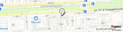 5 минут на карте Волгограда