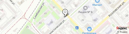 Строй-Экспресс на карте Волгограда