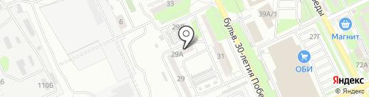 Авто+ на карте Волгограда