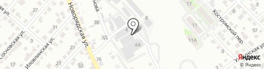 РусОйл на карте Волгограда