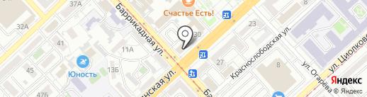 Сметная территория на карте Волгограда
