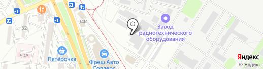 Папа Карло на карте Волгограда
