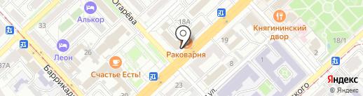 Платежный терминал, КБ Центр-Инвест на карте Волгограда