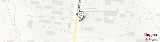 Акси на карте Городища
