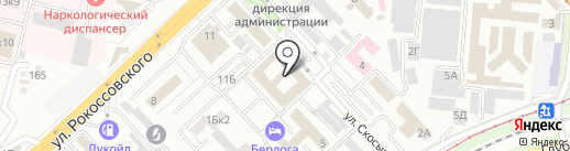 Царицын Авто на карте Волгограда