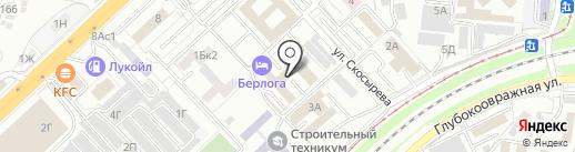 Таганка на карте Волгограда