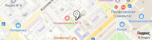 Шанс на карте Волгограда