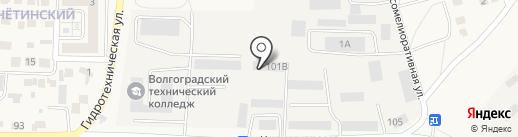 Динск на карте Городища